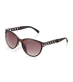 Nine West® Tortoise Medium Cat Eye Sunglasses