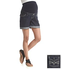Three Seasons Maternity™ Denim Roll Cuffed Shorts