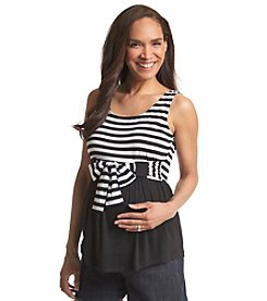 Three Seasons Maternity™ Solid & Stripe Tank