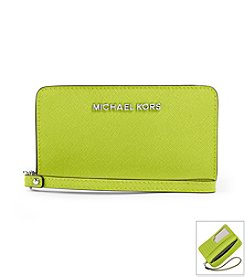 MICHAEL Michael Kors® Jet Set Travel Slim Tech Wristlet