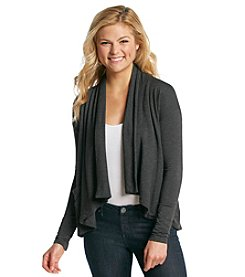 Kensie® Drapey French Terry Jacket