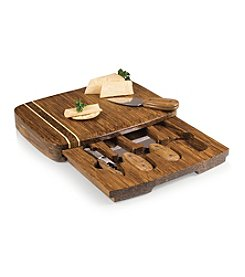 Picnic Time® Verano Cutting Board with Drawer and Cheese Tool Set