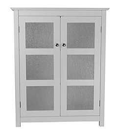 Elegant Home Fashions® Connor 2 Glass Door Floor Cabinet