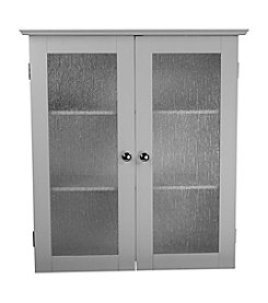 Elegant Home Fashions® Connor Glass Two-Door Wall Cabinet