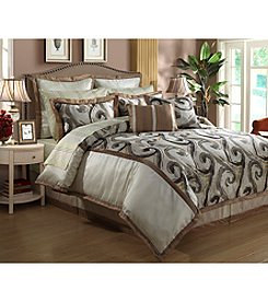 Beatrice Home Fashions Grammercy 12-pc. Comforter Set