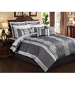 Beatrice Home Fashions Dynasty 12-pc. Comforter Set