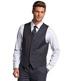 Lauren Ralph Lauren® Men's Navy Plaid Vest