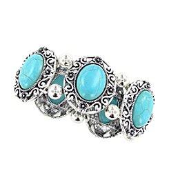 Erica Lyons® Turquoise Bracelet