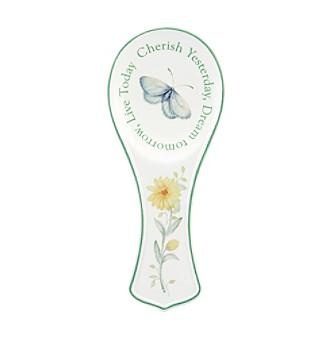 """Lenox® Butterfly Meadow® 8 1/4"""" Spoon Rest"""