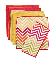 Ritz® Chevron Warm 6-pk. Bar Cloth