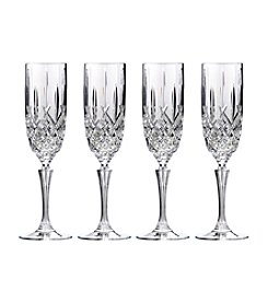 Marquis by Waterford® Markham Set of 4 Champagne Flutes