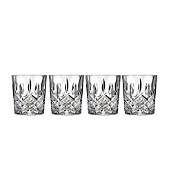 Marquis by Waterford® Markham Set of 4 Double Old Fashioned Glasses