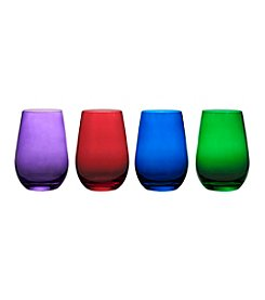 Marquis by Waterford® Vintage Jewels Set of 4 Stemless Wine Glasses