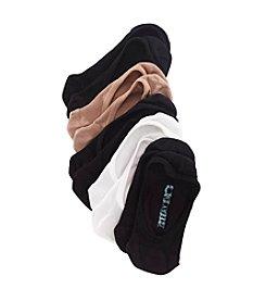 Steve Madden Neutral Footie Socks 5-Pack