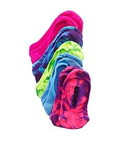 Steve Madden Neon Tie Dye Footie Socks 5-Pack