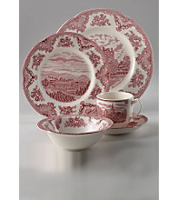 Johnson Brothers Old Britain Castles Pink 5-pc. Place Setting