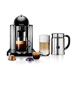 Nespresso VertuoLine Single Serve Espresso & Coffee Brewer with Frother