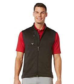 Callaway® Men's Caviar Full Zip Stretch Fleece Vest