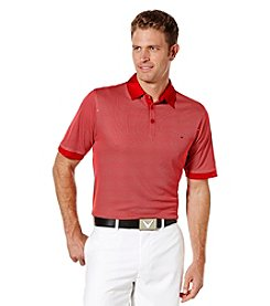 Callaway® Men's Jacquard Polo Shirt