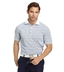 Izod® Men's Jersey Feed Stripe Polo Shirt