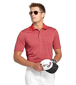 Izod® Men's Baked Apple Big & Tall Poly Feeder Stripe Polo Shirt