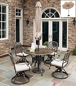Home Styles® Floral Blossom Taupe 5-pc. Dining Set