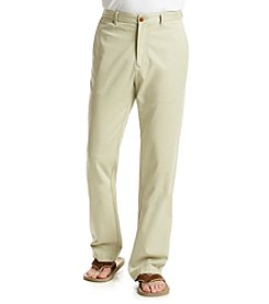 Tommy Bahama® Men's Khaki Sand 'Bryant' Flat-Front Pants