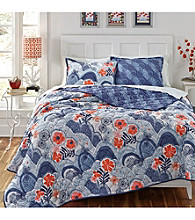 KD Spain Hills and Valleys 3-pc. Quilt Set