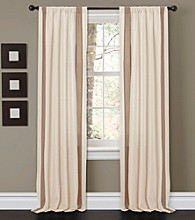 Lush Decor Charming Sand Window Curtains
