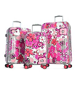 Olympia Blossom II 3-pc. Hardcase Luggage Set