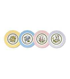 Portmeirion® Scalloped Set of 4 Assorted Dessert Plates