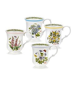 Portmeirion® Set of 4 Assorted Bell Shape Mugs