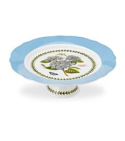 Portmeirion® Scalloped Large Footed Cake Plate