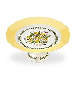 Portmeirion® Scalloped Medium Footed Cake Plate