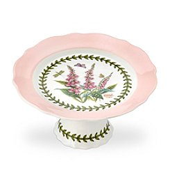 Portmeirion® Scalloped Small Footed Cake Plate