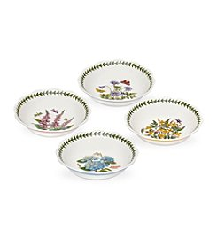 Portmeirion® Scalloped Set of 4 Assorted Bowls