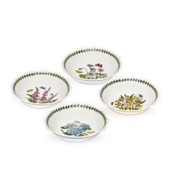 Portmeirion® Scalloped Set of 4 Assorted Bowls