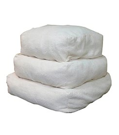 Carolina Pet Company Cloud Sherpa White Pouf