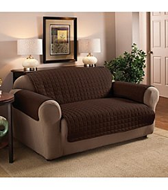 Innovative Textiles Microfiber Solid Loveseat or Sofa Slipcover
