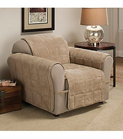 Innovative Textiles Ultimate Suede Chair Slipcover