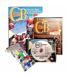 Chord Buddy Guitar Learning Tool & DVD Set