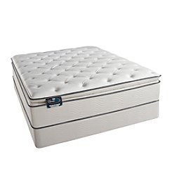 Simmons BeautySleep Redwood Park Plush Pillow-Top Mattress & Box Spring Set