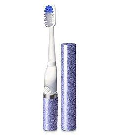 Violife Lavender Glitter Slim Sonic Toothbrush