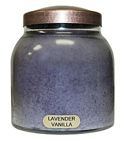 A Cheerful Giver Lavender Vanilla Glass Jar Candle