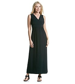 Notations® Solid Maxi Dress