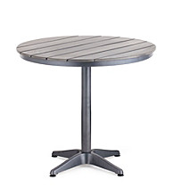 Zuo Modern Capital Round Grey Dining Table
