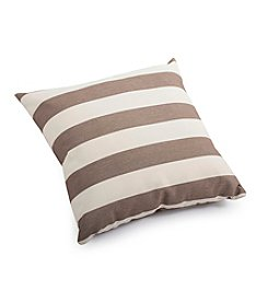 Zuo Modern Beige and Brown Bold Outdoor Pillow
