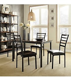 Home Interior Palmetto 5-pc. Faux Marble Casual Dining Set