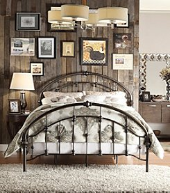 Home Interior Amherst Metal Bed