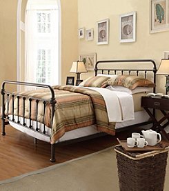 Home Interior Marcela Metal Bed